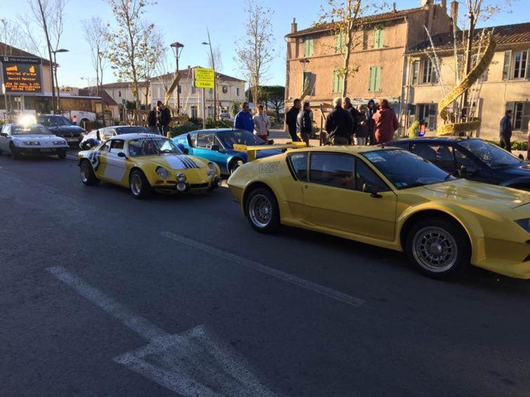 Au rallye du Var on a fêté les 40 ans de la victoire Alpine  St110