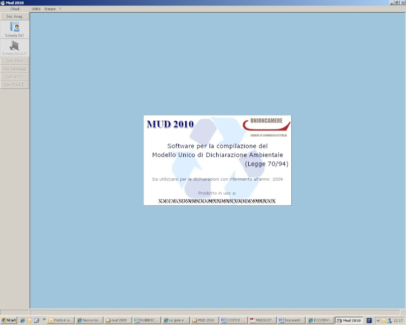 Nuova modulistica MUD 2010 Mud20111