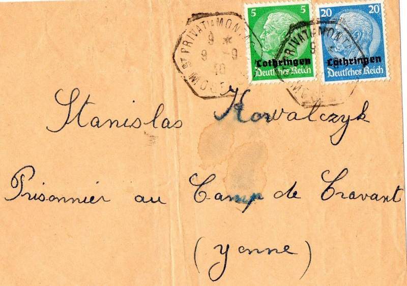 ALSACE - MOSELLE (LORRAINE) 1940_l10