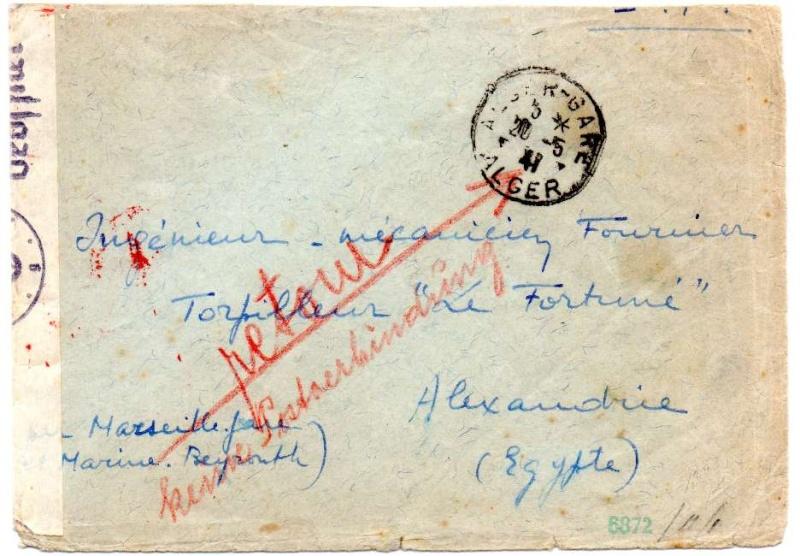1941 Algerie - Alexandrie via le Levant 1941_a10