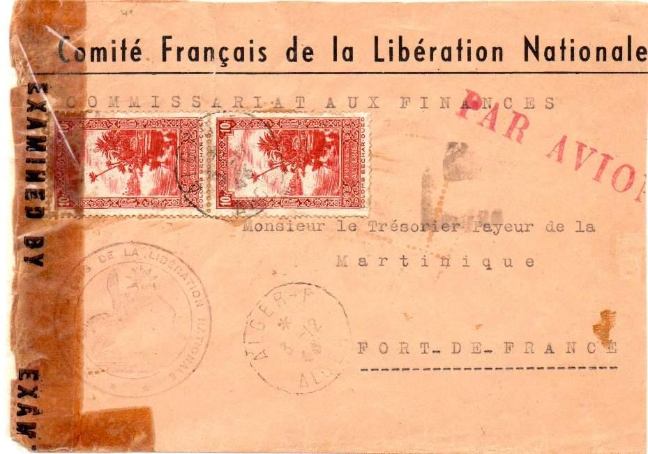 Alger F : le discret guichet annexe du CFLN 1943_a19