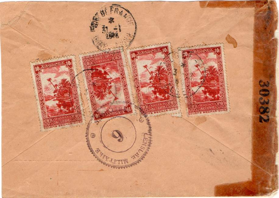 Alger F : le discret guichet annexe du CFLN 1943_a20