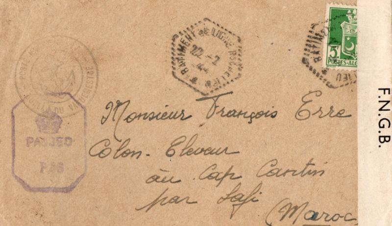 Une petite ( ou grande ) découverte en Poste Navale et CP 1944_r10