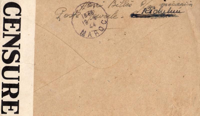 Une petite ( ou grande ) découverte en Poste Navale et CP 1944_r11
