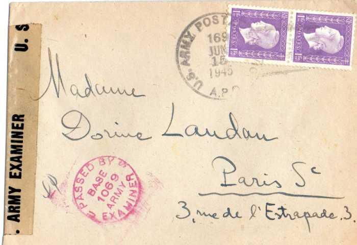 1945 : Dulac, UNRRA et US Army.... 1945_u10