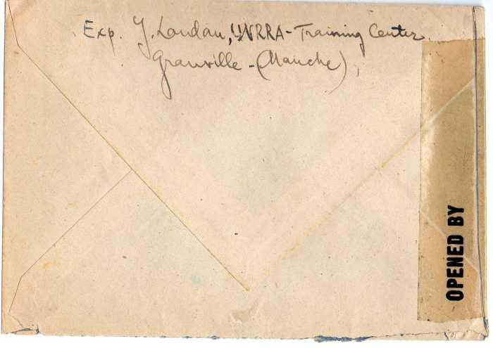 1945 : Dulac, UNRRA et US Army.... 1945_u11