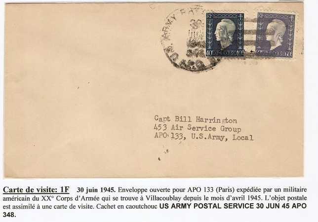 1945 : Dulac, UNRRA et US Army.... Guzfra11