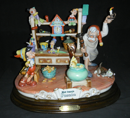 [Collection] Disney Capodimonte Sculptures Lzd-6410
