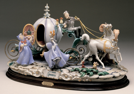 [Collection] Disney Capodimonte Sculptures Lzd-6510
