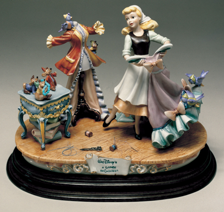[Collection] Disney Capodimonte Sculptures Lzd-6511