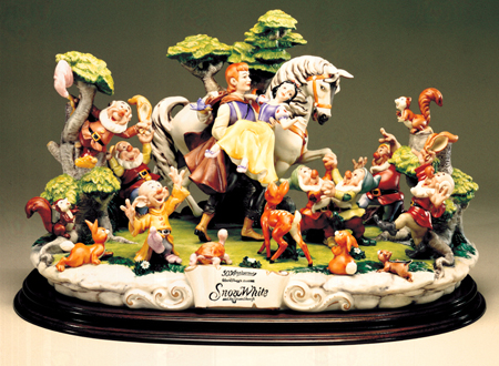 [Collection] Disney Capodimonte Sculptures Lzd-7010