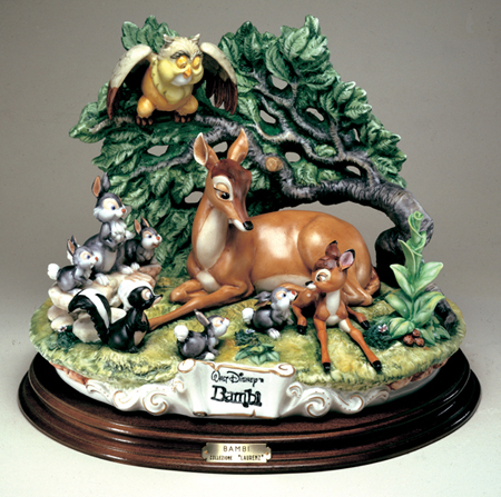 [Collection] Disney Capodimonte Sculptures Lzd-7110