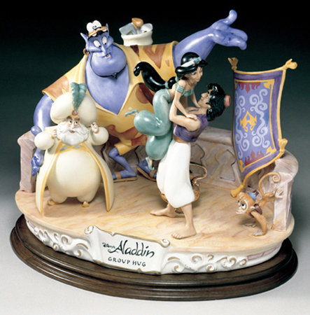 [Collection] Disney Capodimonte Sculptures Lzd-7510