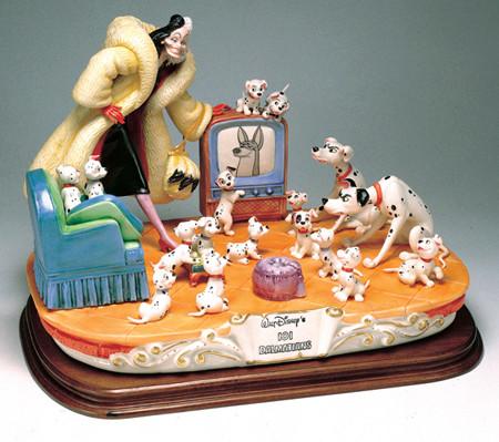 [Collection] Disney Capodimonte Sculptures Lzd-7710