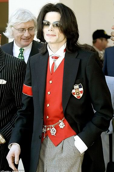 Foto di Michael con abiti eleganti Gilet_11