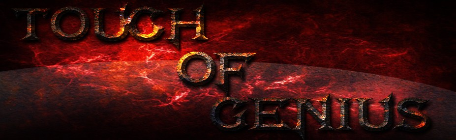 Free forum : Touch of Genius Guild - Front Page Banner10