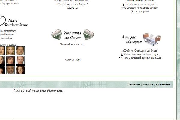Page d'accueil - Edit impossible/déformation Bon10