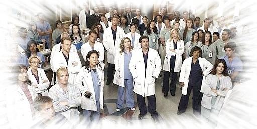 Grey's Anatomy Story Dxf1110