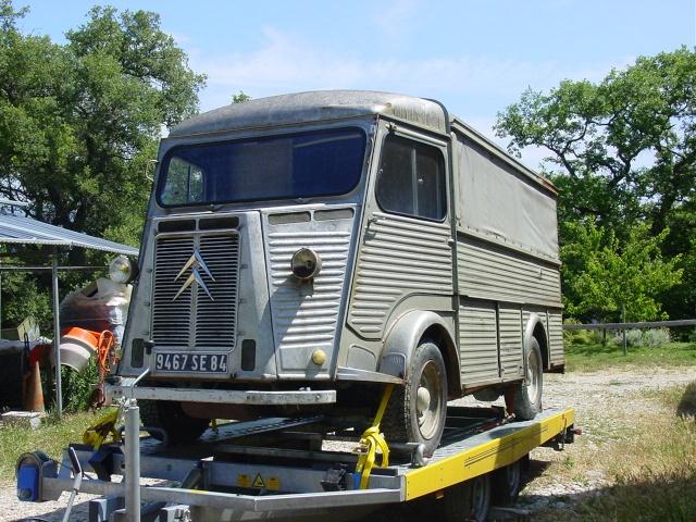 Présentation : mon HY78  Type HY SAPA de 1968 le sauvetage  Citroe16