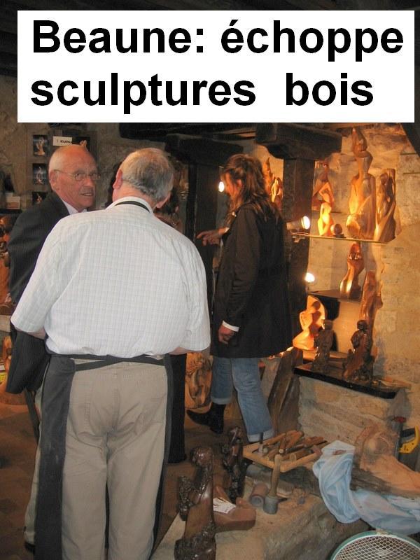 Les sorties de l'atelier sculpture Portes13