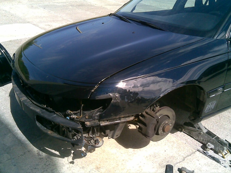 Omega B MV6 von Dennis i500 / Unfall 17062010