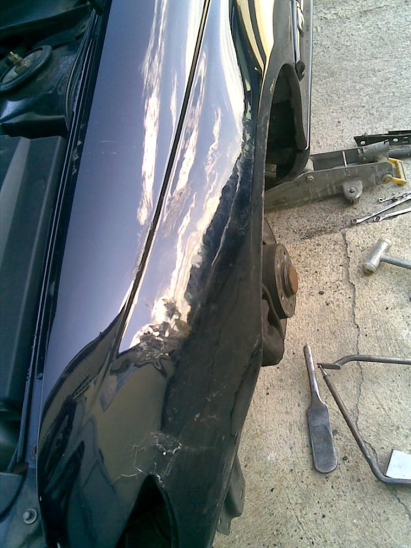 Omega B MV6 von Dennis i500 / Unfall 17062013