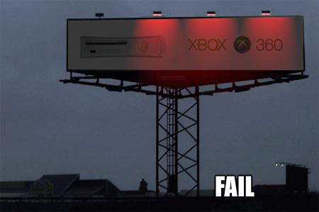 Xbox 360 ad Fail1210