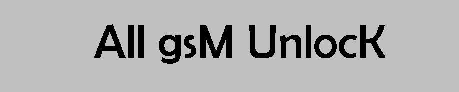 All GsM UnlocK