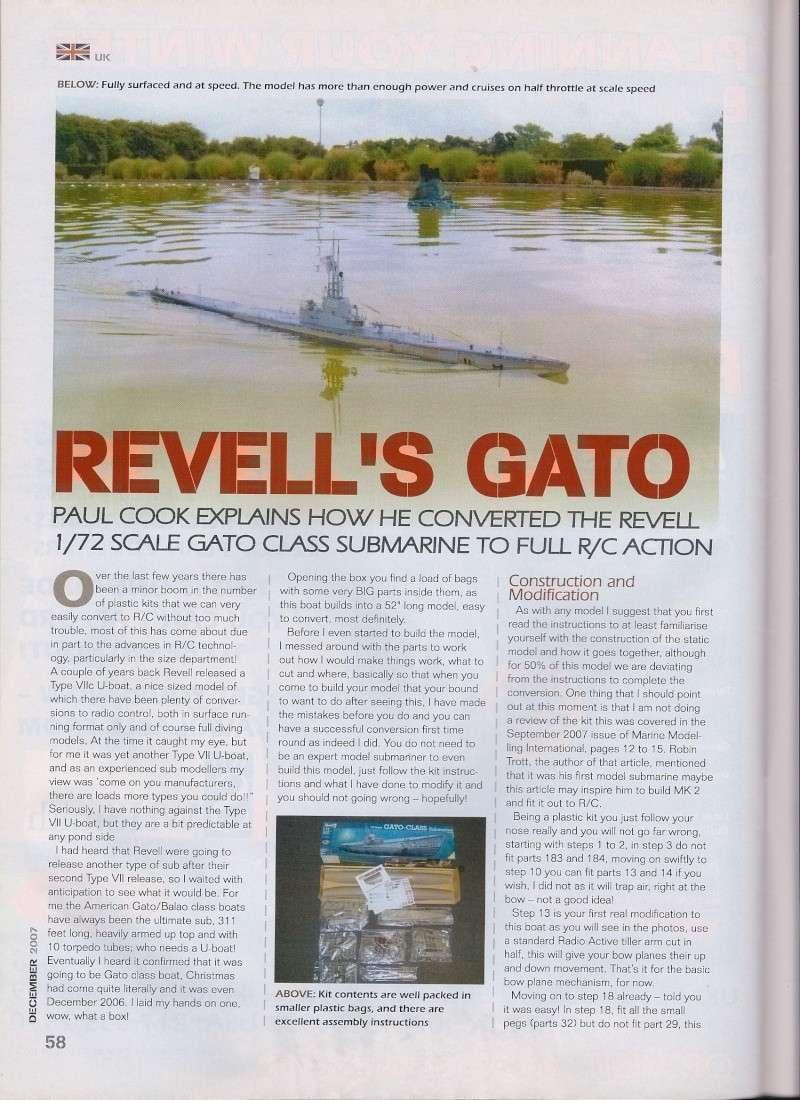 Revell 1/72nd scale Gato Gato-210