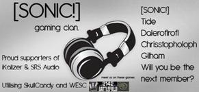 SONIC! Gaming Clan.