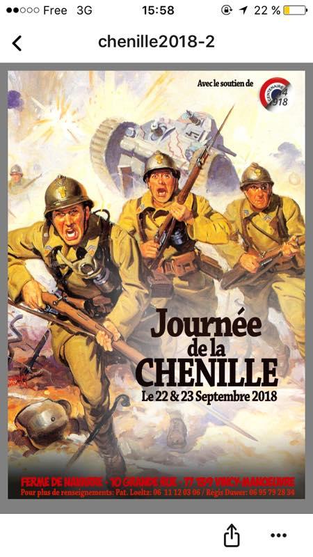 journée de la chenille 22 et 23 septembre Vincy-Manœuvre (77)  28166910