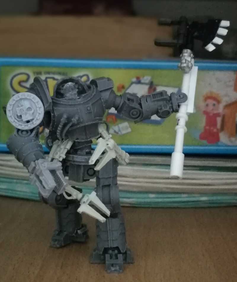 Iron hands, chevaliers, legion cybernetica et maintenant titan warlord  - Page 6 Img_2033