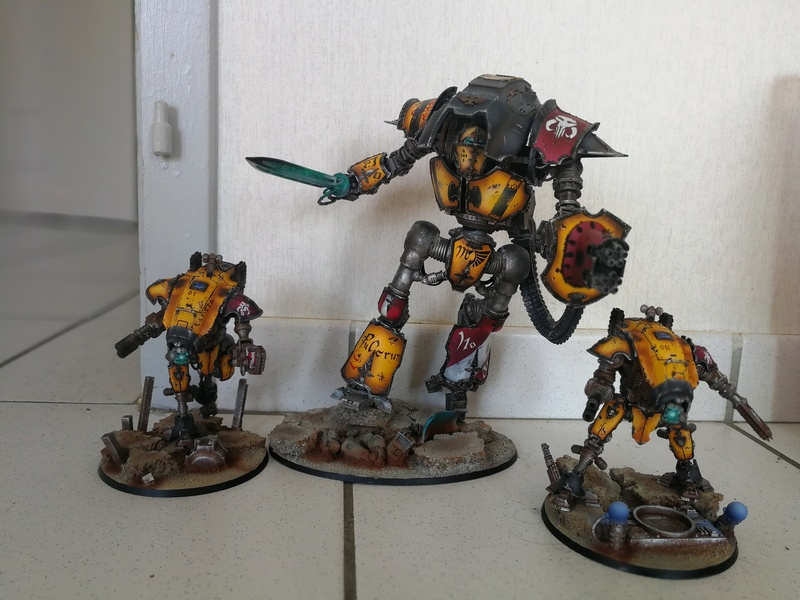 Iron hands, chevaliers, legion cybernetica et maintenant titan warlord  - Page 6 Img_2035