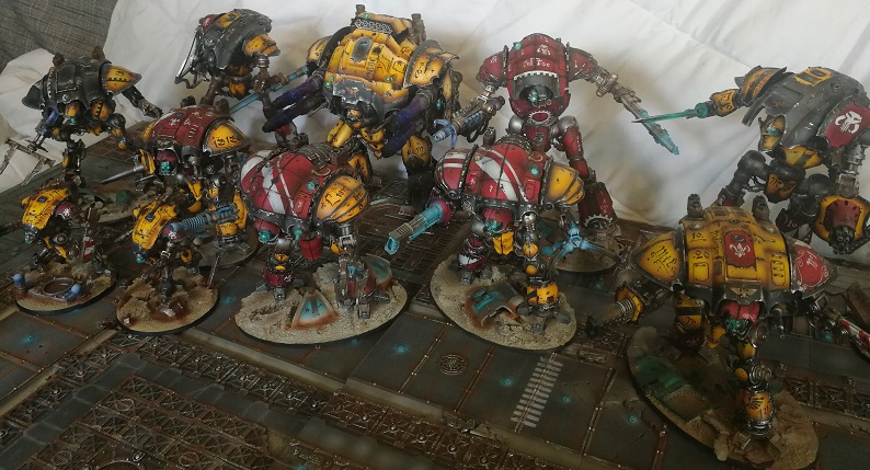 Iron hands, chevaliers, legion cybernetica et maintenant titan warlord  - Page 7 Img_2057