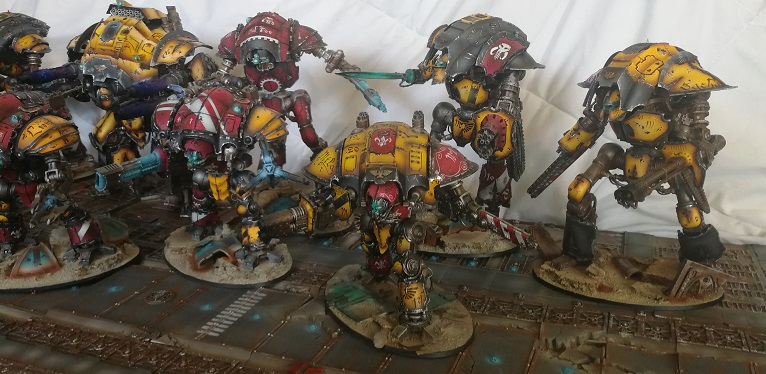 Iron hands, chevaliers, legion cybernetica et maintenant titan warlord  - Page 7 Img_2058