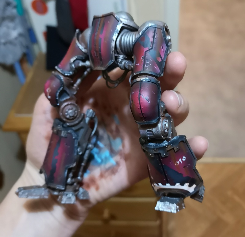 Iron hands, chevaliers, legion cybernetica et maintenant titan warlord  - Page 7 Img_2062