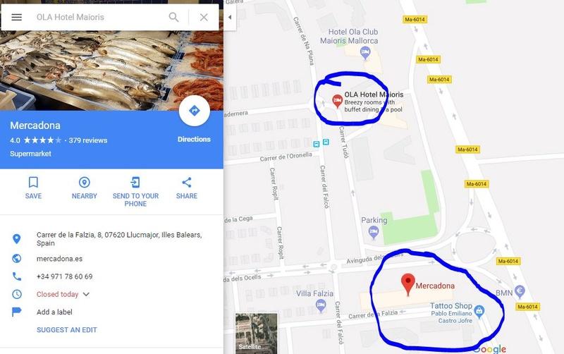 Ola club maioris Map10