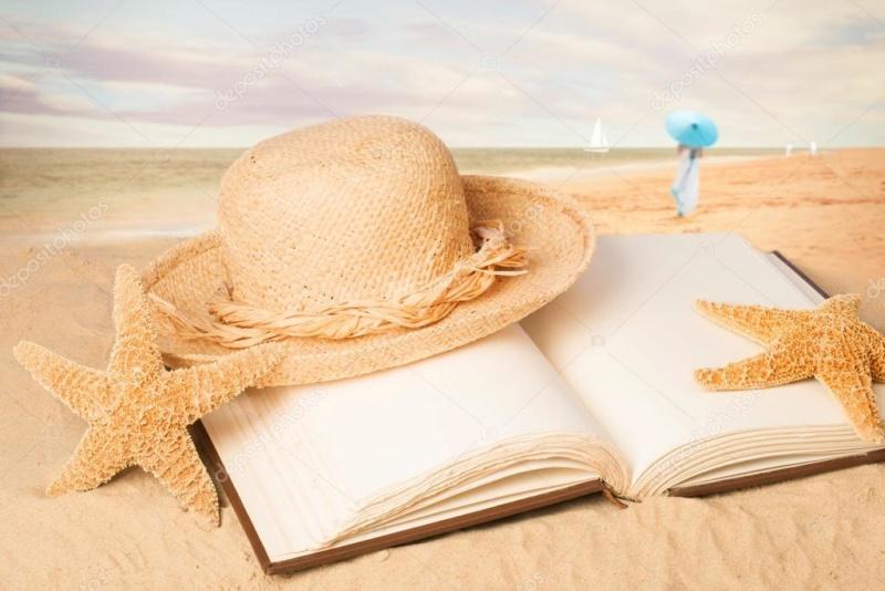 Challenge des saisons Ete : Sea, sun and books Img_1214