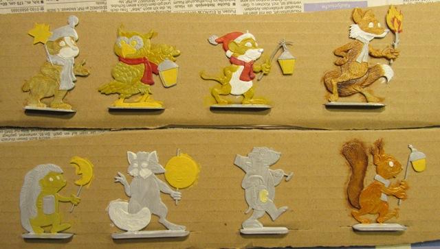 Laternenzug der Tiere, Flachfiguren 54 mm, Raizinn Img_1010
