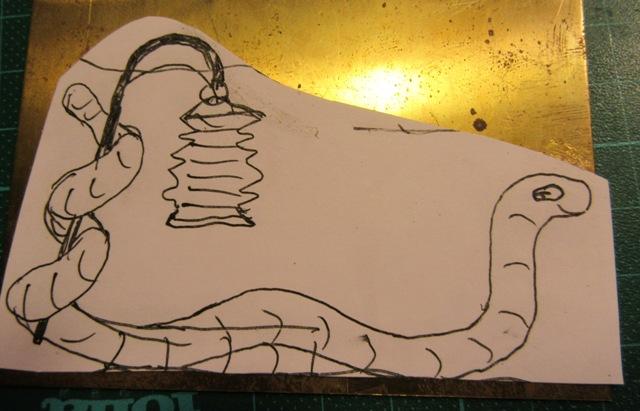 Laternenzug der Tiere, Flachfiguren 54 mm, Raizinn Img_2220