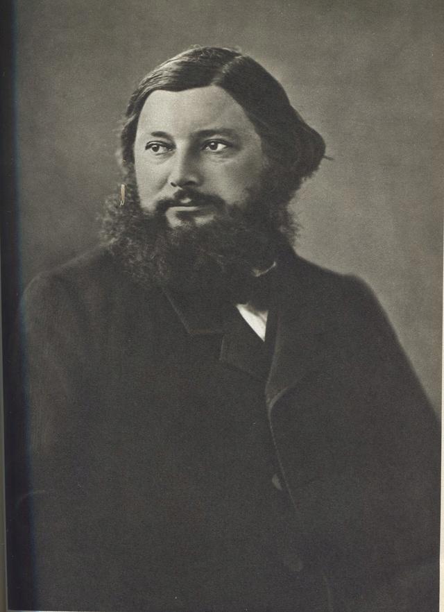Courbet Gustave: autoportraits, portraits photographiques et caricatures du peintre - Page 3 1861_c12