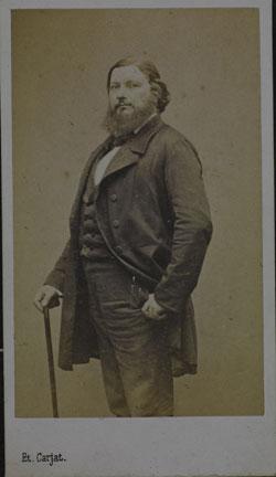 Courbet Gustave: autoportraits, portraits photographiques et caricatures du peintre - Page 3 1862_c10