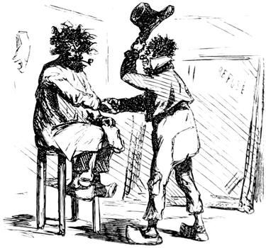 Courbet Gustave: autoportraits, portraits photographiques et caricatures du peintre - Page 3 1863_c10