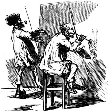 Courbet Gustave: autoportraits, portraits photographiques et caricatures du peintre - Page 3 1863_c11