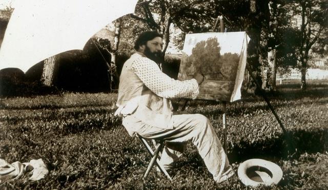 Courbet Gustave: autoportraits, portraits photographiques et caricatures du peintre - Page 3 1864_c10