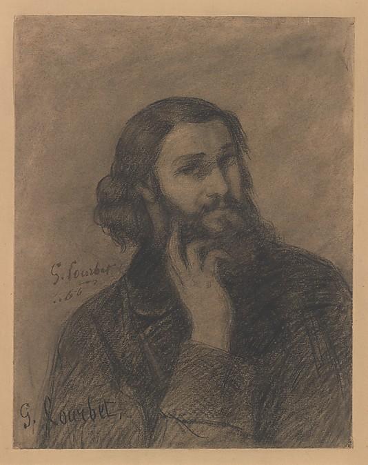 Courbet Gustave: autoportraits, portraits photographiques et caricatures du peintre - Page 3 1866_c10
