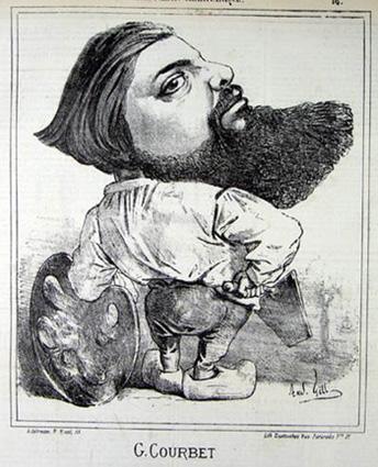 Courbet Gustave: autoportraits, portraits photographiques et caricatures du peintre - Page 3 1867_c12