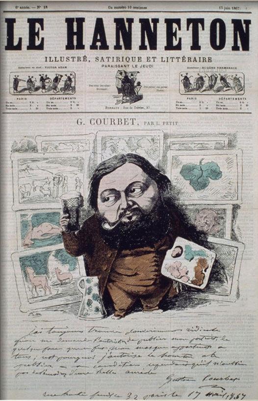 Courbet Gustave: autoportraits, portraits photographiques et caricatures du peintre - Page 3 1867_l10