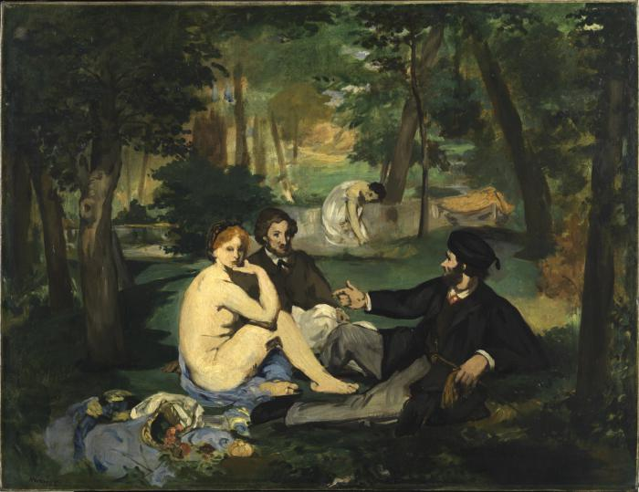 """Manet Edouard, """"Le déjeuner sur l'herbe"""" 24549110"""