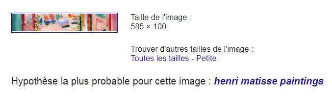 Reconnaissance d'image de Google Captur18